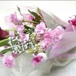 お祝い花束サイズ 高さ約65㎝×幅約40㎝