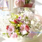 お誕生日のお祝いギフト 春の花束